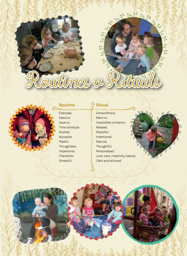 Rituals poster cards for ECE