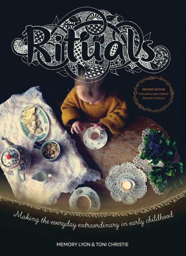 Rituals book by Memory Lyon and Toni Christie for ECE