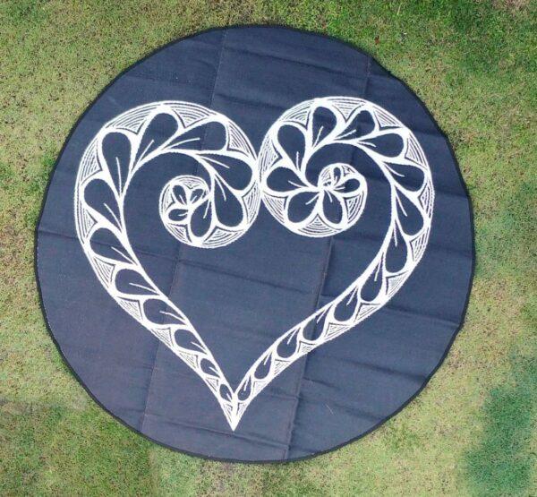 Zentangle of Love Mat