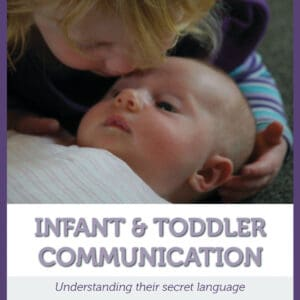 Infant and toddler communication book