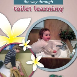Toddlers navigating the way through toilet learning