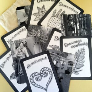 Leading with heart and soul card set