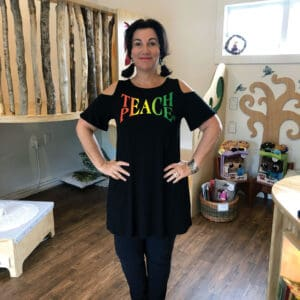 Teach Peace Tunic for Adults