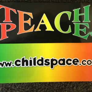 Teach Peace Bookmark