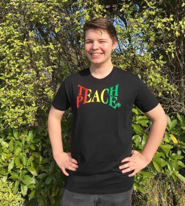 Teach Peace Men's t-shirt