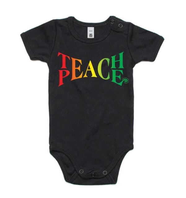 Teach Peace Onesie