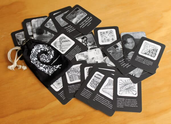 Values Cards with illustrations for ECE