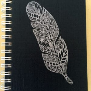 Zentangle drawing notebook for ECE